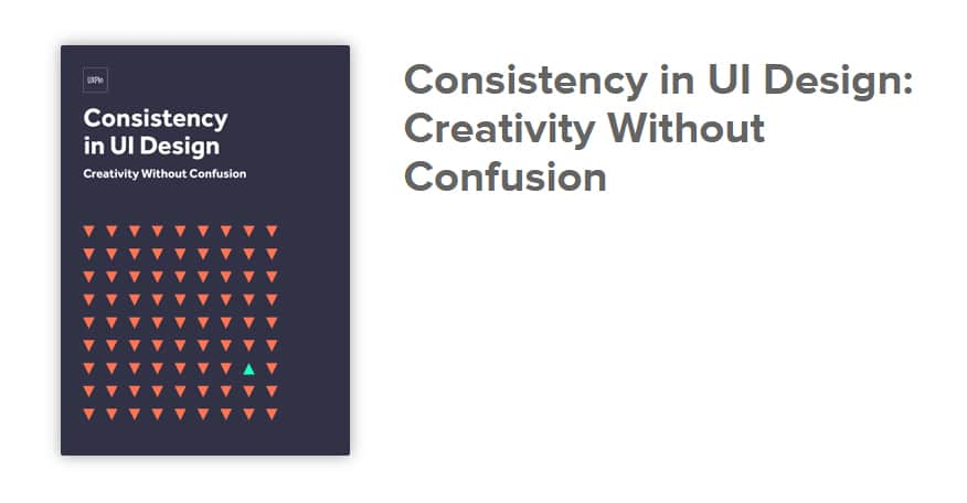 Creativity & Consistency in UI Design