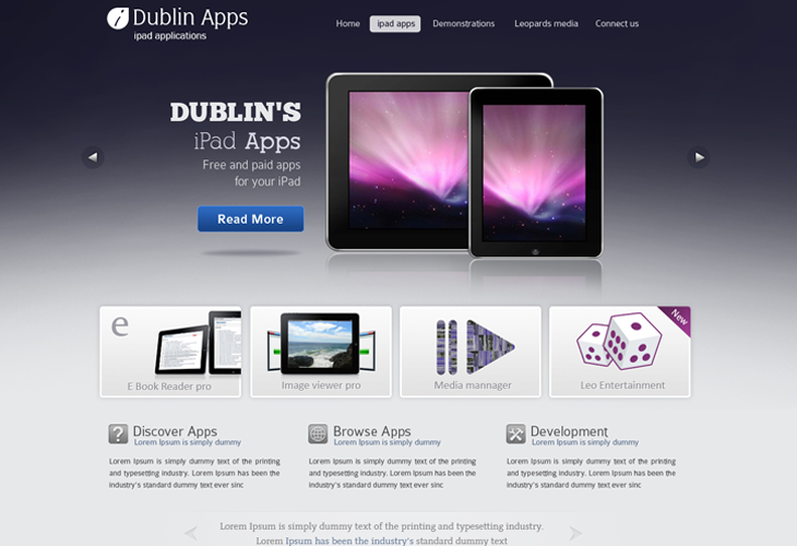 Dublin-iPad-Apps