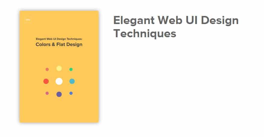 Elegant Web UI Design Techniques