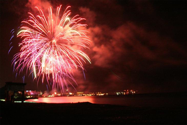 Fireworks in Limassol