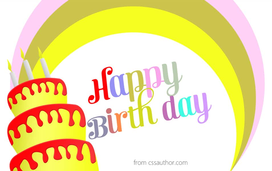 Free Funny Birthday Cards PSD