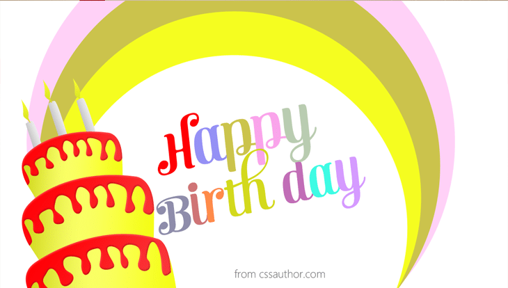 Free Funny Birthday Cards - cssauthor.com