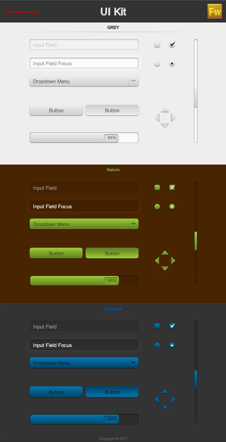 Free UI-Kit FW