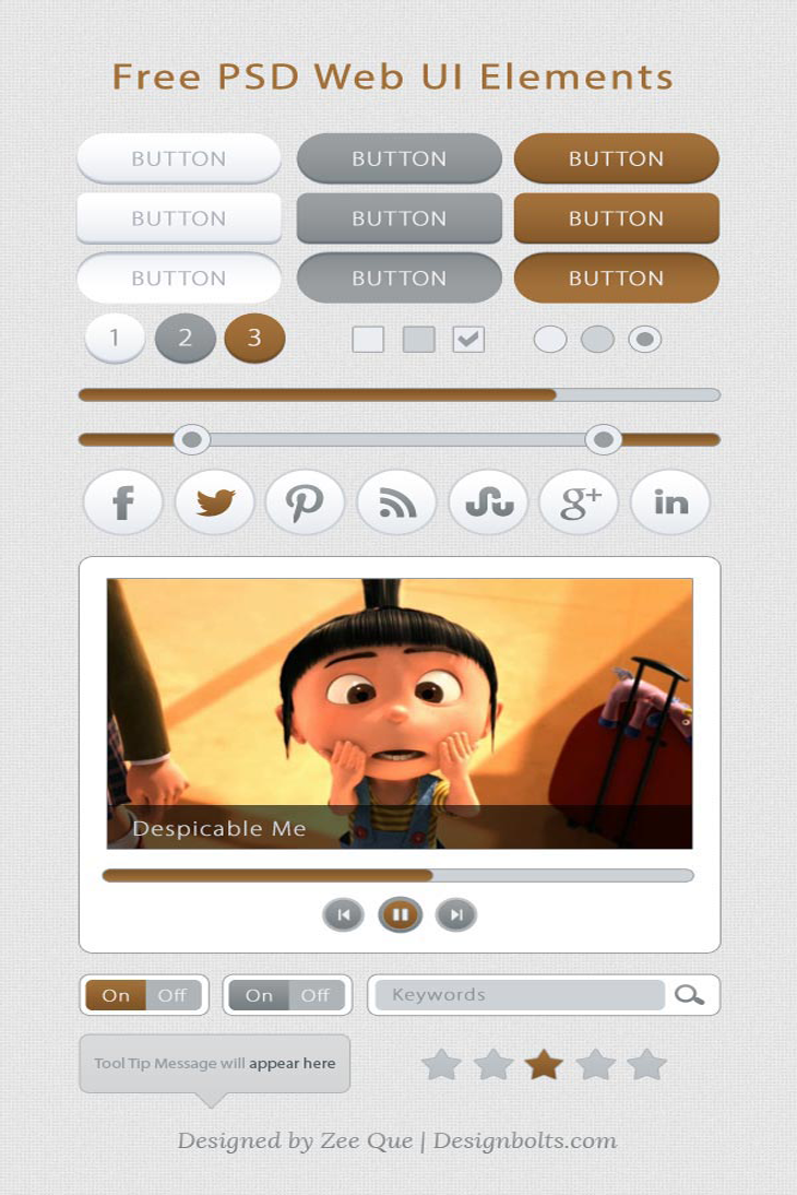 Free Web UI Kit - Elements