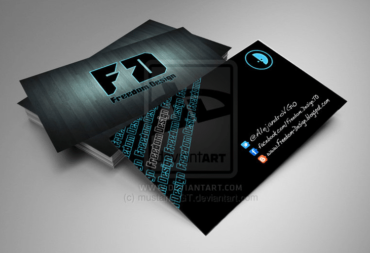 Freedom-Design-business-card