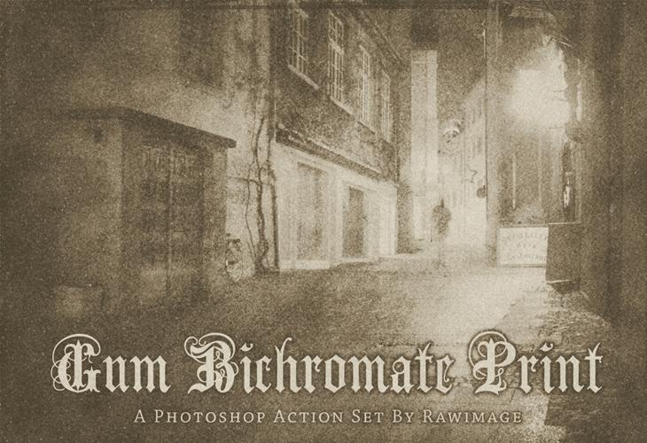 Gum-Bichromate-Print
