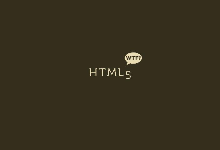 HTML5-WTF