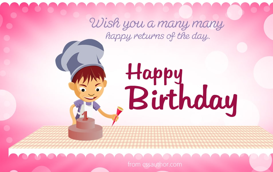Beautiful Birthday greetings card PSD for Free Download Freebie – Birthday Wish Greeting Images