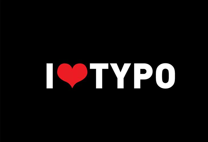 I LOVE TYPO
