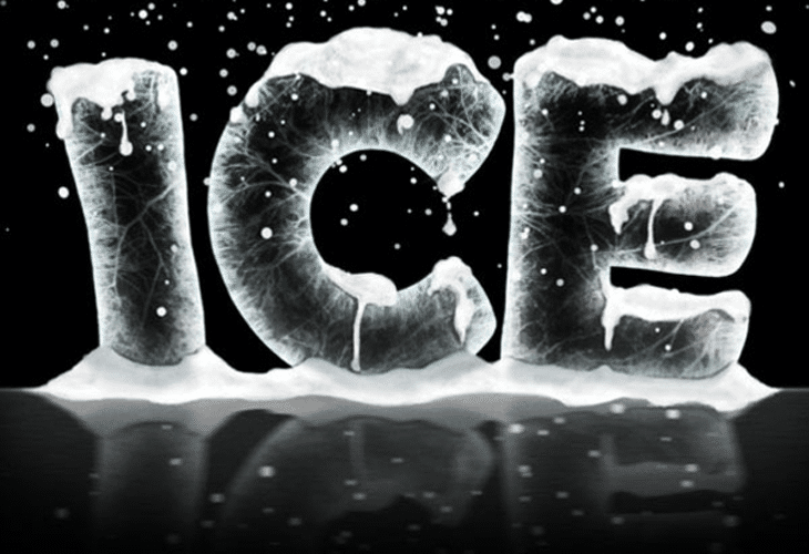 Ice Text Effect
