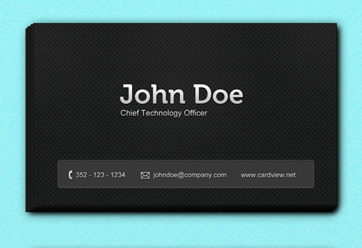 Metal-Black-Business-Cards