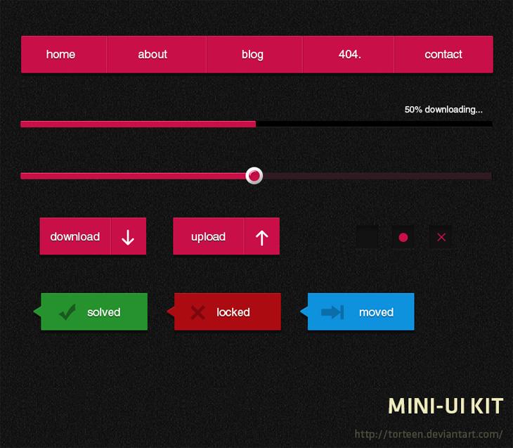 Mini UI KIT