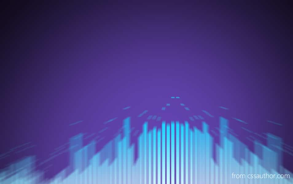 Music Bars Background PSD