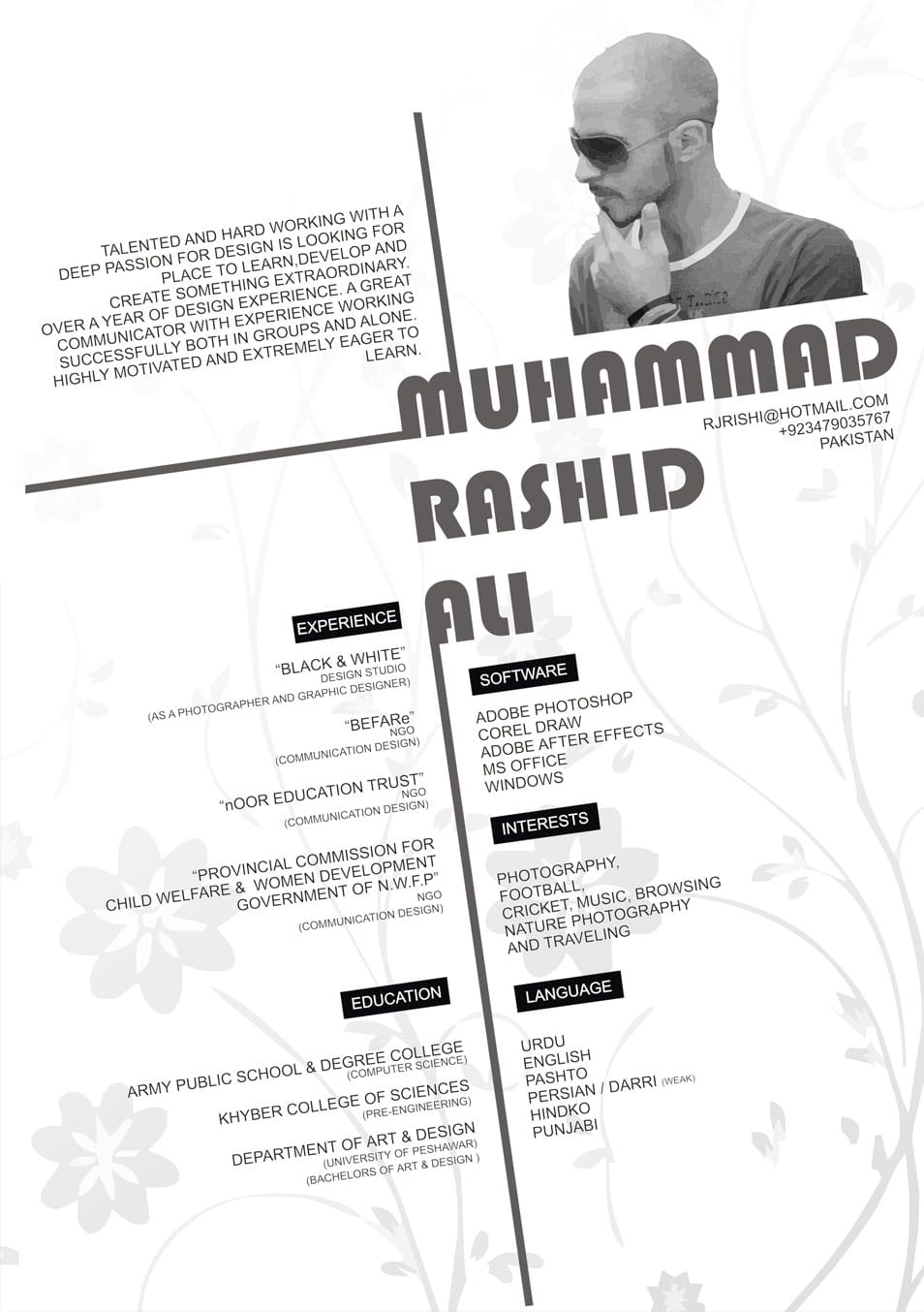 50 creative cv  resume design inspiration