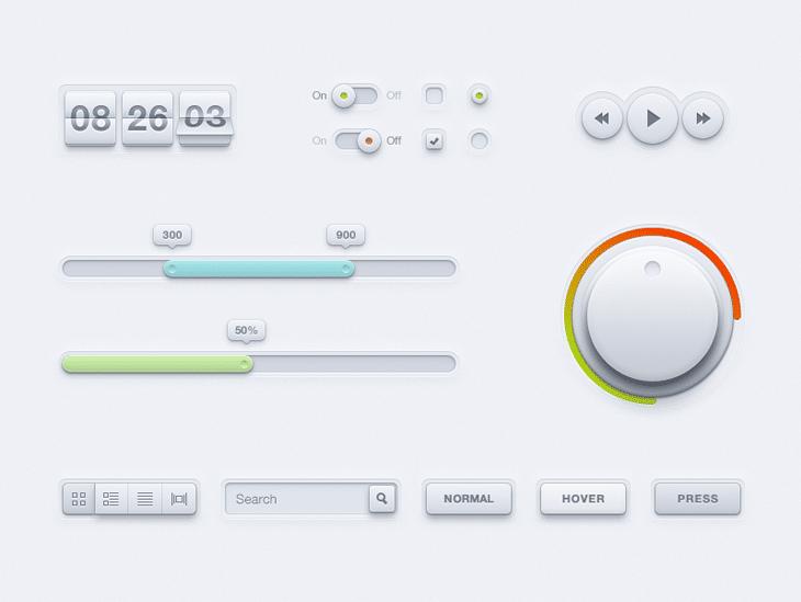 New UI Kit