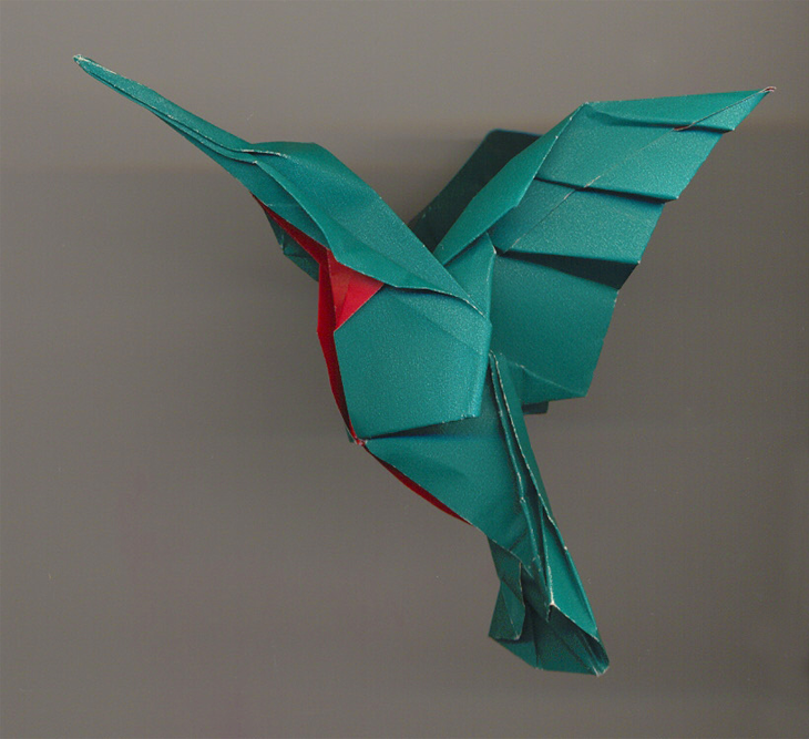 40 Beautiful Examples of Origami Artworks - photo#23