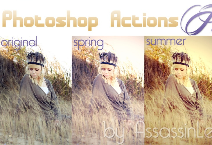 Photoshop Actions Season