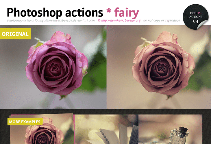 Photoshop-fairy-actions