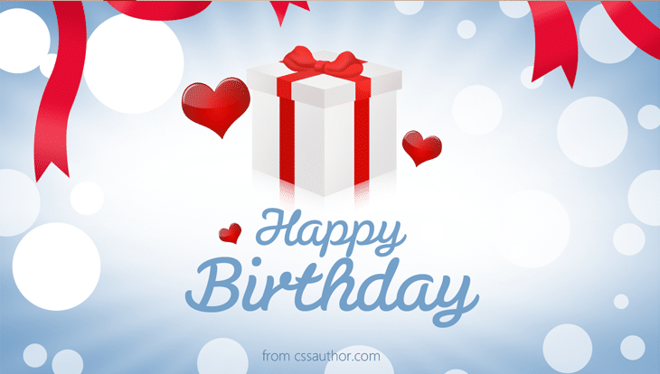 Printable Birthday Cards - cssauthor.com