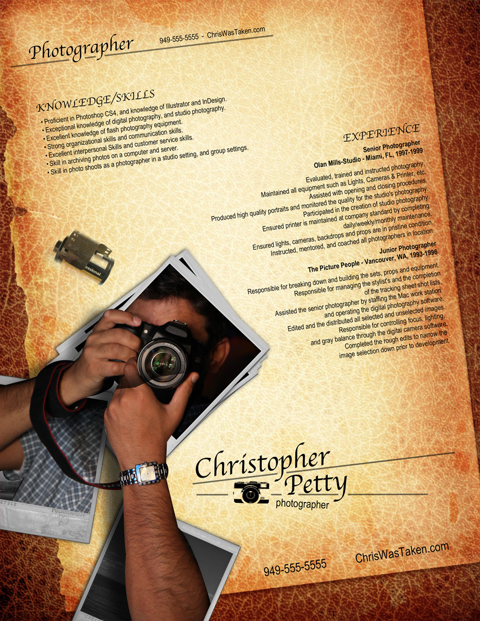 Opposenewapstandardsus  Wonderful  Creative Cvresume Design Inspiration With Foxy Resume Photographer With Astounding Education Resume Sample Also Steps To Writing A Resume In Addition How To Make A Free Resume Step By Step And Loss Prevention Manager Resume As Well As Actor Resume Format Additionally Cover Pages For Resumes From Cssauthorcom With Opposenewapstandardsus  Foxy  Creative Cvresume Design Inspiration With Astounding Resume Photographer And Wonderful Education Resume Sample Also Steps To Writing A Resume In Addition How To Make A Free Resume Step By Step From Cssauthorcom