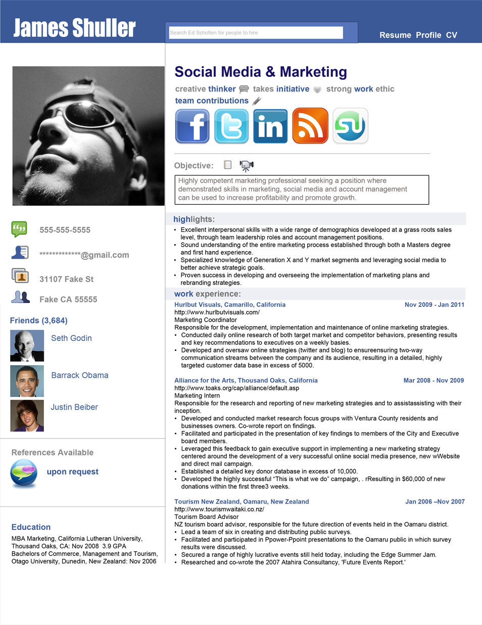 Opposenewapstandardsus  Surprising  Creative Cvresume Design Inspiration With Interesting Resume  Social Network Adv With Delectable Google Resume Also Creative Resume Templates In Addition How To Make A Resume On Word And Resume Wizard As Well As Call Center Resume Additionally Best Fonts For Resume From Cssauthorcom With Opposenewapstandardsus  Interesting  Creative Cvresume Design Inspiration With Delectable Resume  Social Network Adv And Surprising Google Resume Also Creative Resume Templates In Addition How To Make A Resume On Word From Cssauthorcom