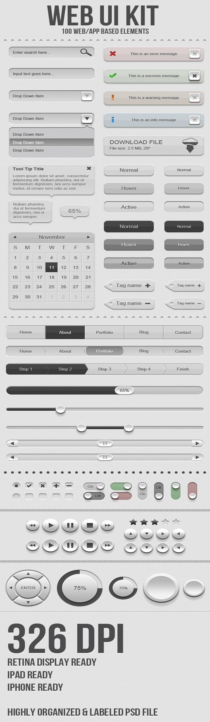 UI Web Kit
