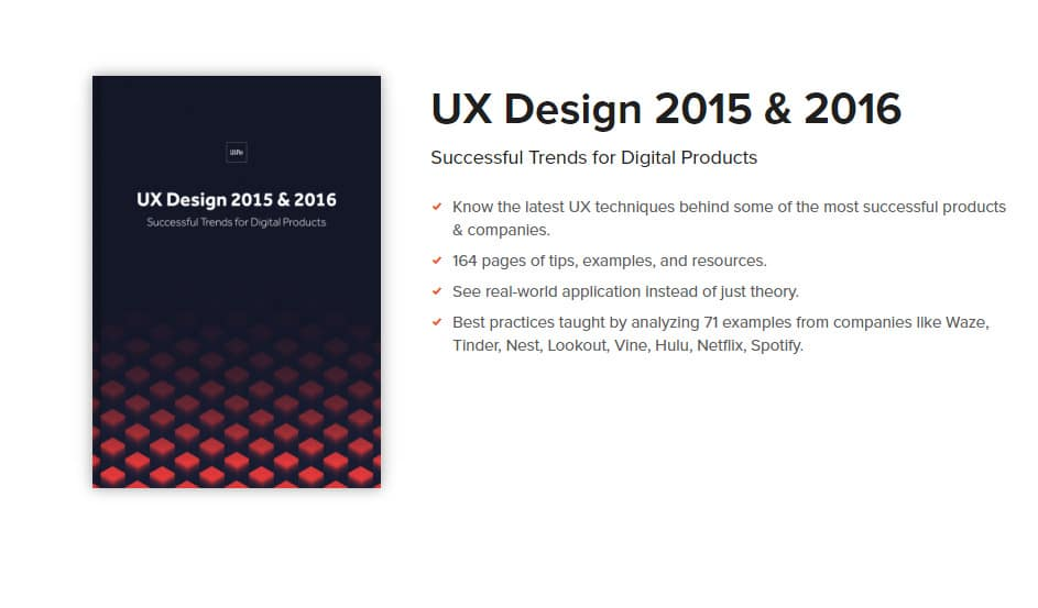 Free e-Book for UX Design Trends 2015 & 2016