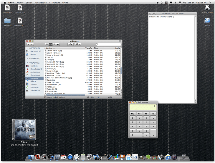 Vista Previai Snow Leopard GUI Kit