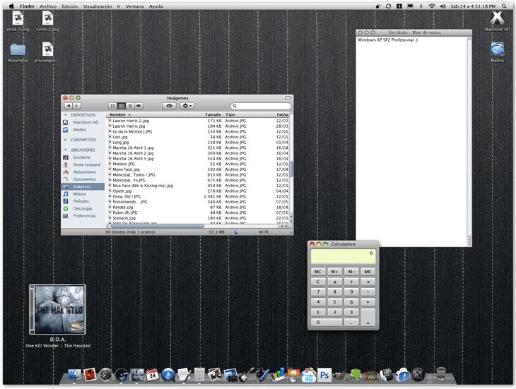 Vista Previai Snow Leopard GUI Kit