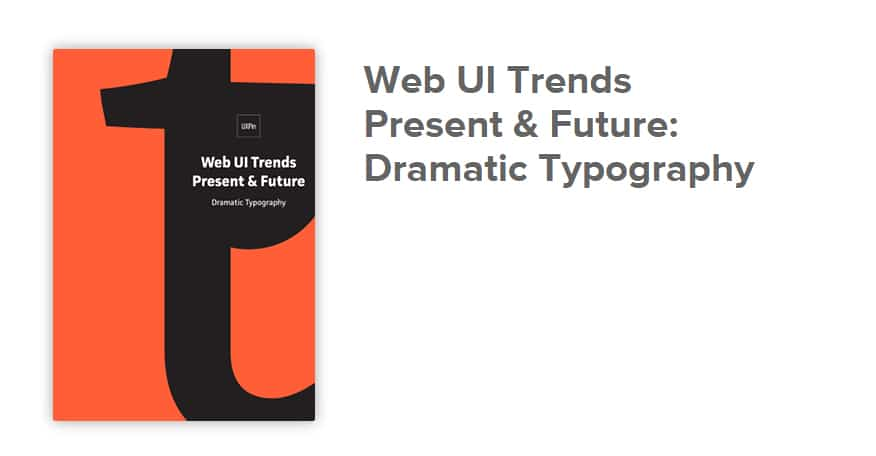 Web UI Trends Present & Future