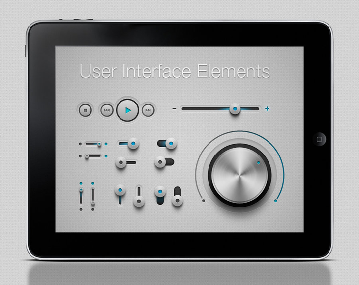 iPhone and Ipad App UI Kit