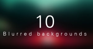 10 Beautiful Collection of Blurred Backgrounds – Freebie No: 58