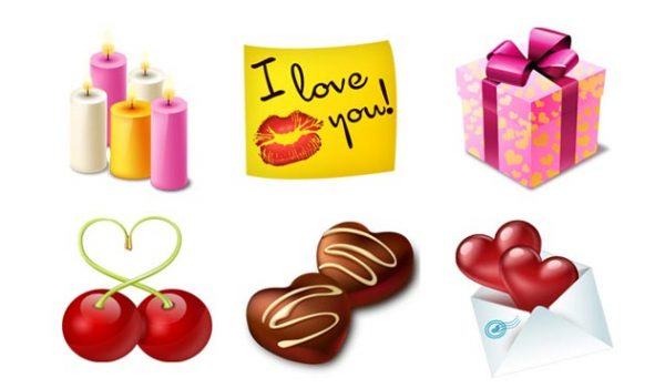 15 Delicious Valentine's Day Icon Set for Inspiration