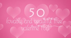 50 Lovable and Beautiful Free Valentine Font