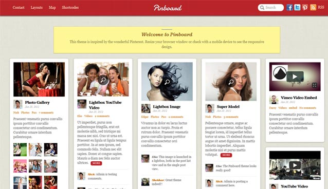 8 Best Pinterest Like WordPress Themes For Your Inspiration