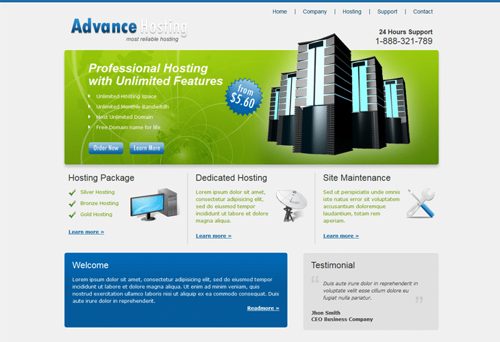 Advance Hosting