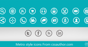 Beautiful Metro style icons PSD for Free Download – Freebie No: 52