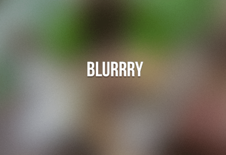 Blurrry - Free 20 Blurred Backgrounds