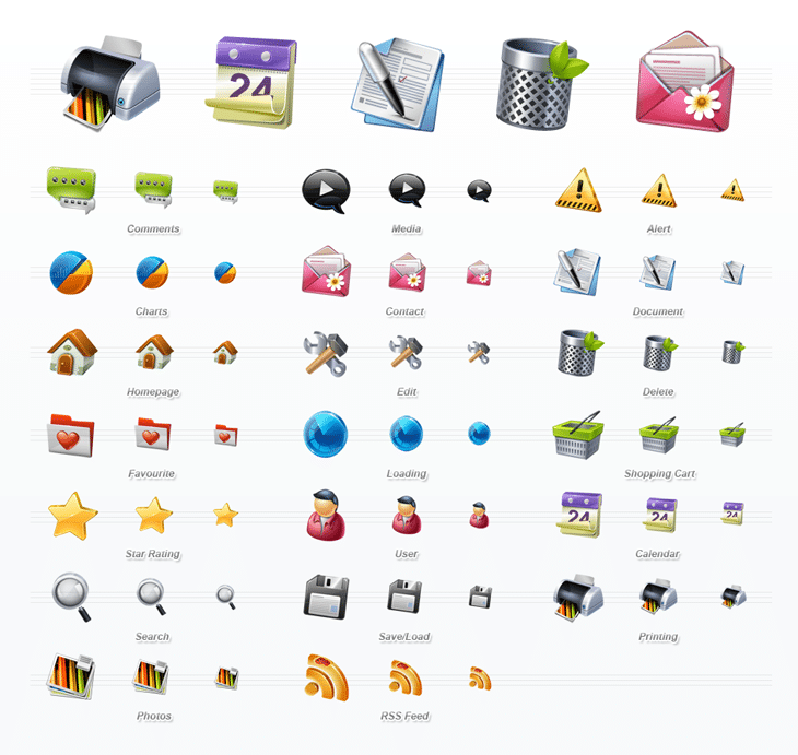 Business Icon Set (20 icons)
