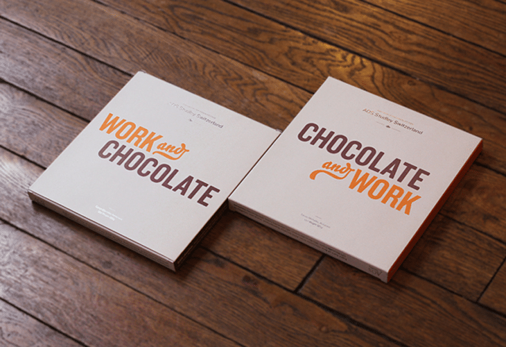 Chocolate gift packaging