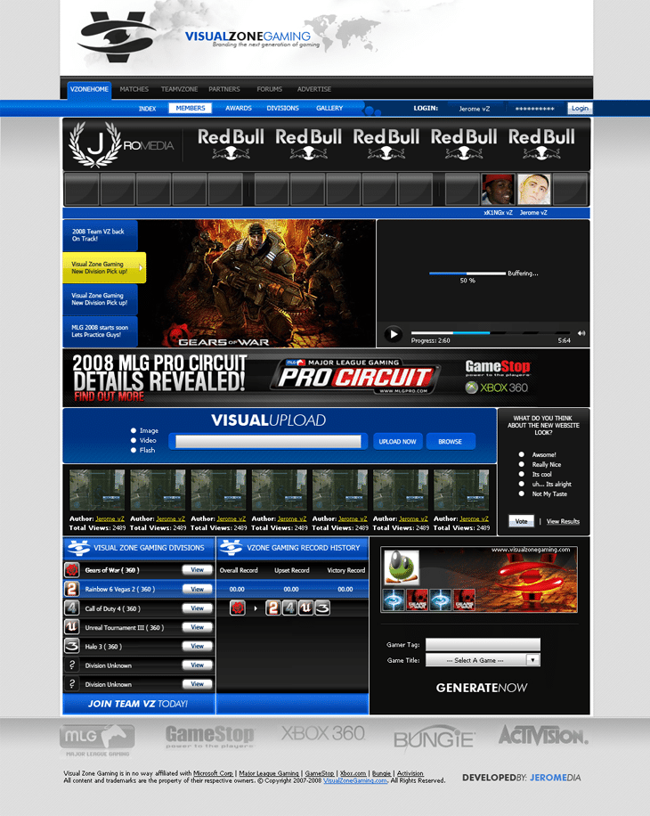 Clan Website 4 sale