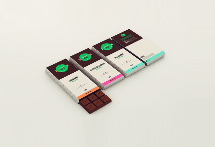 chocolate package design combined with price Professional free and premium packaging design templates chocolate packaging box two products for the price of one.