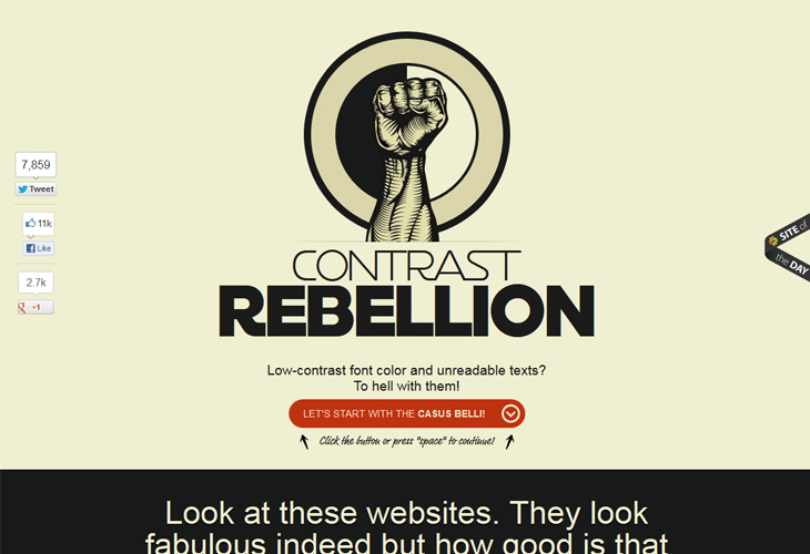 Contrast Rebellion