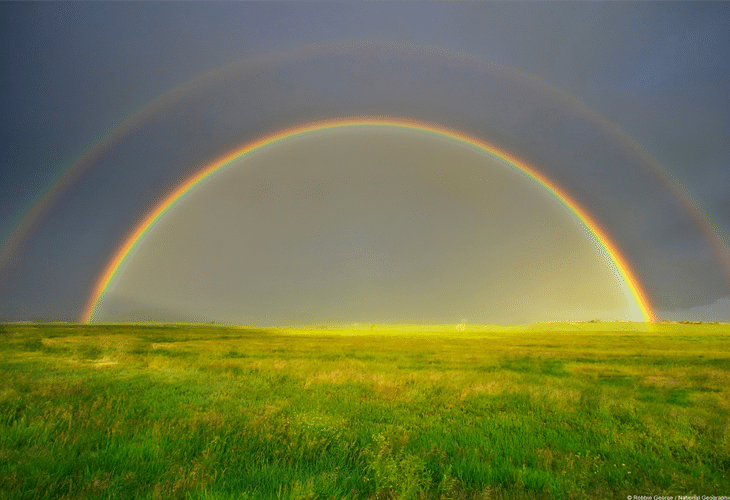 Double Rainbow - Windows 8 Wallpaper