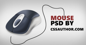 Download Free Mouse Icon PSD from CSS Author – Freebie No: 50