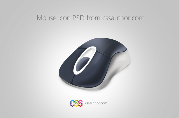 Download Free Mouse Icon PSD from CSS Author - cssauthor.com