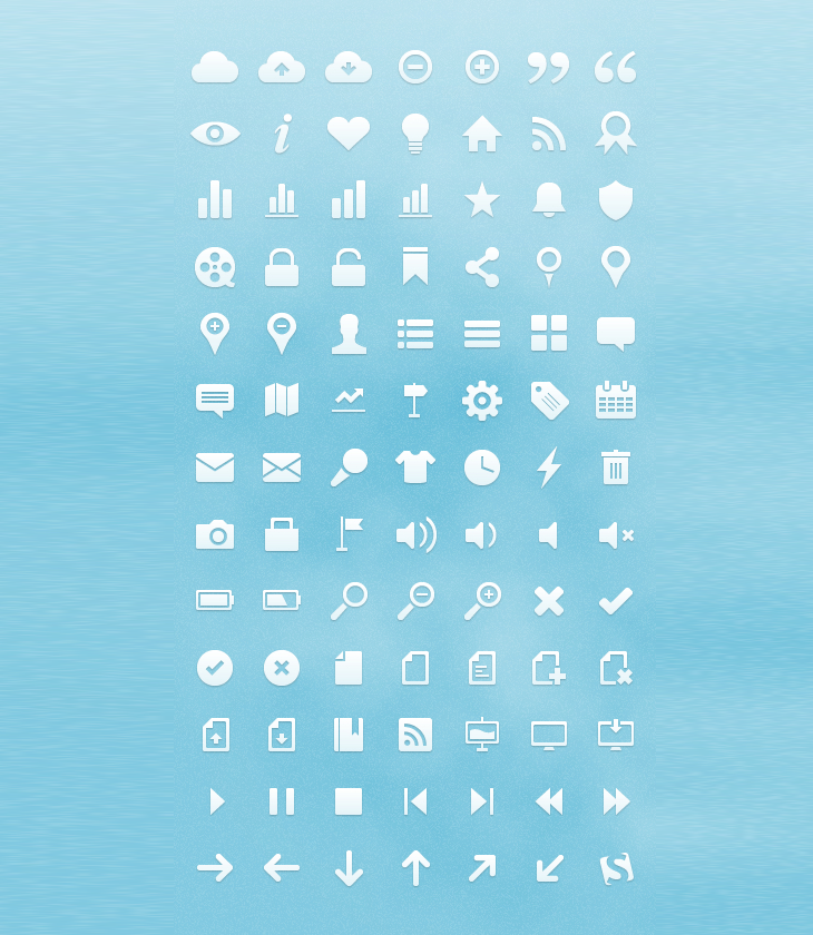 Free Vector Web Icons (91 Icons)