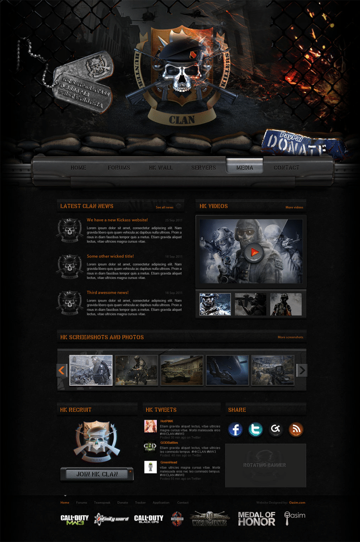 Hunter Killers Website