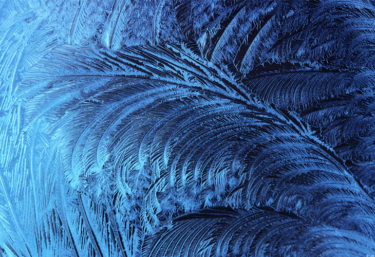 Ice Crystals - Windows 8 Wallpaper