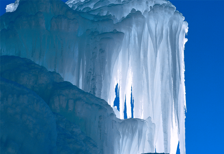 Ice Formation - Windows 8 Wallpaper